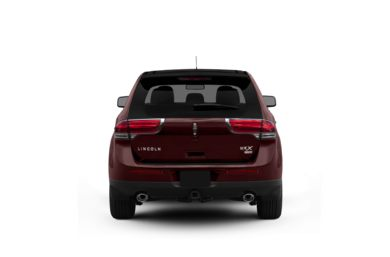 Surround Rear Profile 2011 Lincoln MKX