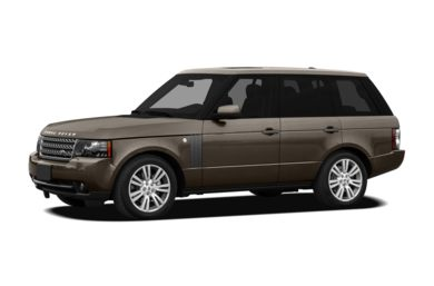 3/4 Front Glamour 2011 Land Rover Range Rover