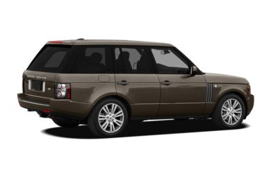 3/4 Rear Glamour  2011 Land Rover Range Rover