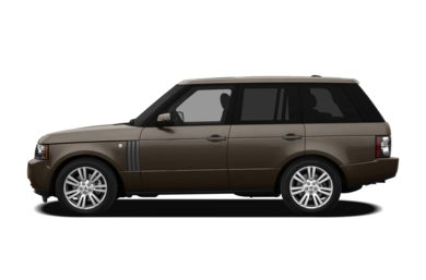 90 Degree Profile 2011 Land Rover Range Rover