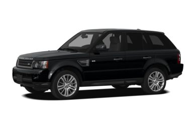3/4 Front Glamour 2011 Land Rover Range Rover Sport