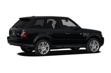 3/4 Rear Glamour  2011 Land Rover Range Rover Sport