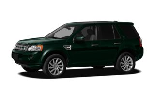 3/4 Front Glamour 2011 Land Rover LR2