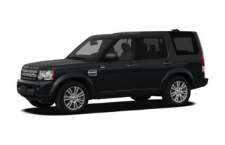 3/4 Front Glamour 2011 Land Rover LR4