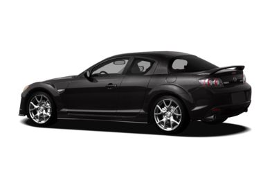 Surround 3/4 Rear - Drivers Side  2011 Mazda RX-8