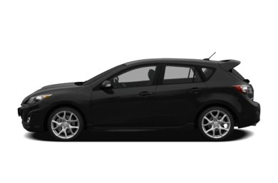 90 Degree Profile 2011 Mazda MAZDASPEED3