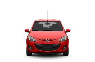 Surround Front Profile  2011 Mazda Mazda2