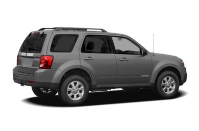 3/4 Rear Glamour  2011 Mazda Tribute