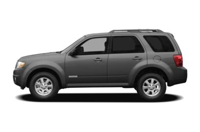 90 Degree Profile 2011 Mazda Tribute