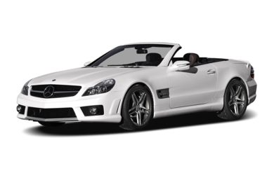 3/4 Front Glamour 2011 Mercedes-Benz SL65 AMG