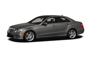 3/4 Front Glamour 2011 Mercedes-Benz E350