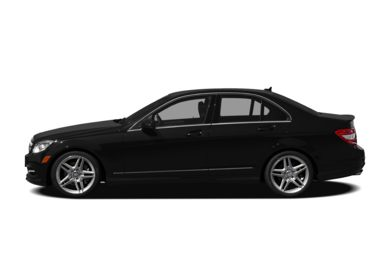 90 Degree Profile 2011 Mercedes-Benz C350