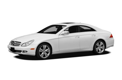 3/4 Front Glamour 2011 Mercedes-Benz CLS550