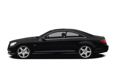 90 Degree Profile 2011 Mercedes-Benz CL550