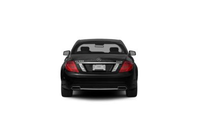 Surround Rear Profile 2011 Mercedes-Benz CL550