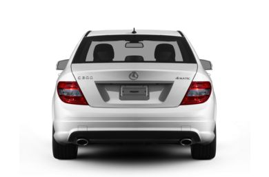 Rear Profile  2011 Mercedes-Benz C300