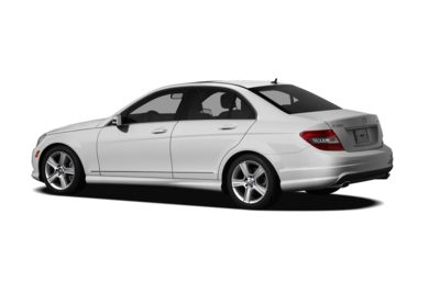 Surround 3/4 Rear - Drivers Side  2011 Mercedes-Benz C300