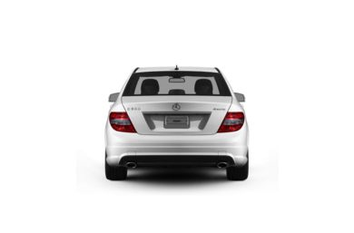 Surround Rear Profile 2011 Mercedes-Benz C300