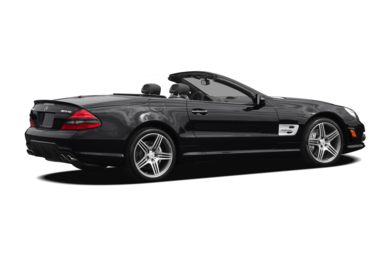3/4 Rear Glamour  2011 Mercedes-Benz SL63 AMG