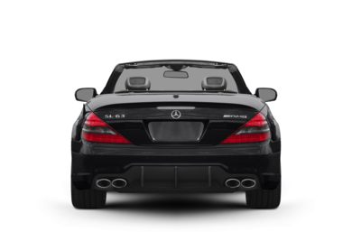 Rear Profile  2011 Mercedes-Benz SL63 AMG
