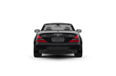Surround Rear Profile 2011 Mercedes-Benz SL63 AMG