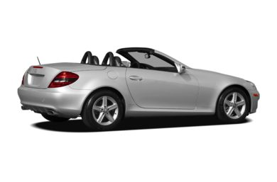 3/4 Rear Glamour  2011 Mercedes-Benz SLK300