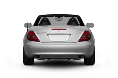 Rear Profile  2011 Mercedes-Benz SLK300