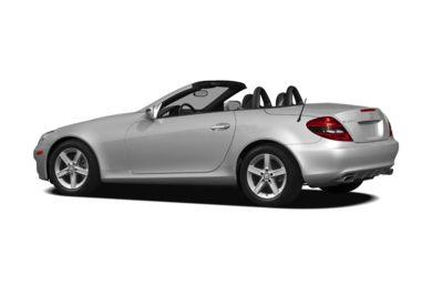 Surround 3/4 Rear - Drivers Side  2011 Mercedes-Benz SLK300