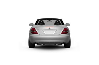 Surround Rear Profile 2011 Mercedes-Benz SLK300