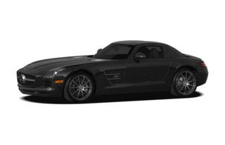 3/4 Front Glamour 2011 Mercedes-Benz SLS AMG