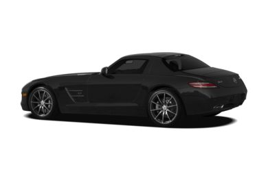 Surround 3/4 Rear - Drivers Side  2011 Mercedes-Benz SLS AMG