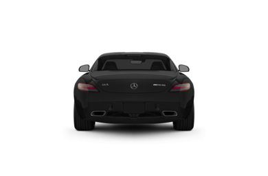 Surround Rear Profile 2011 Mercedes-Benz SLS AMG