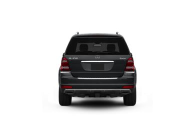 Surround Rear Profile 2011 Mercedes-Benz GL450