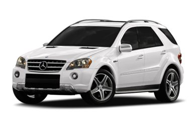 3/4 Front Glamour 2011 Mercedes-Benz ML63 AMG