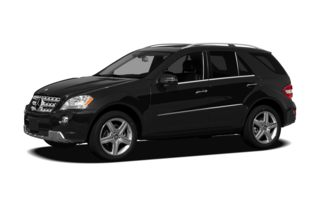3/4 Front Glamour 2011 Mercedes-Benz ML550