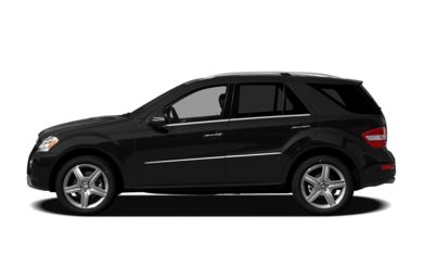90 Degree Profile 2011 Mercedes-Benz ML550