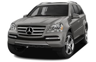 3/4 Front Glamour 2011 Mercedes-Benz GL550