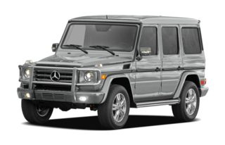 3/4 Front Glamour 2011 Mercedes-Benz G550