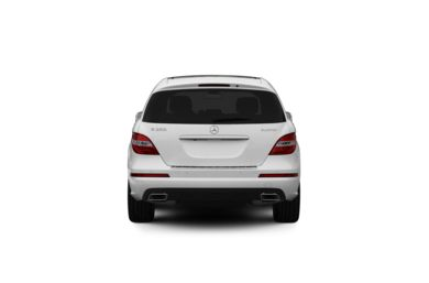 Surround Rear Profile 2011 Mercedes-Benz R350 BlueTEC