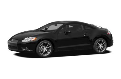 3/4 Front Glamour 2011 Mitsubishi Eclipse