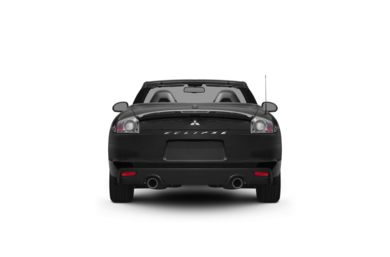Surround Rear Profile 2011 Mitsubishi Eclipse Spyder