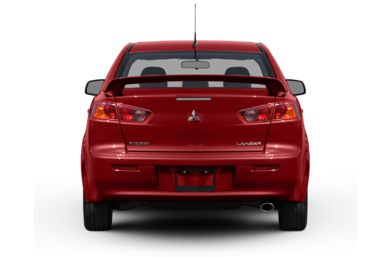 Rear Profile  2011 Mitsubishi Lancer