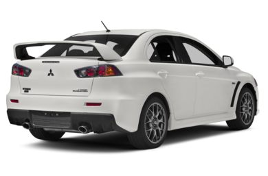3/4 Rear Glamour  2011 Mitsubishi Lancer Evolution