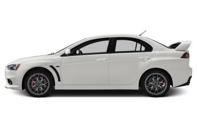 90 Degree Profile 2011 Mitsubishi Lancer Evolution