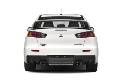 Rear Profile  2011 Mitsubishi Lancer Evolution
