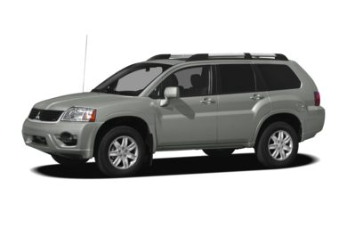 3/4 Front Glamour 2011 Mitsubishi Endeavor
