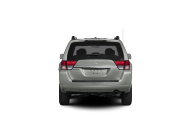 Surround Rear Profile 2011 Mitsubishi Endeavor