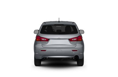 Surround Rear Profile 2011 Mitsubishi Outlander Sport