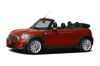 3/4 Front Glamour 2011 MINI Convertible