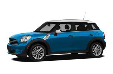 3/4 Front Glamour 2011 MINI Countryman